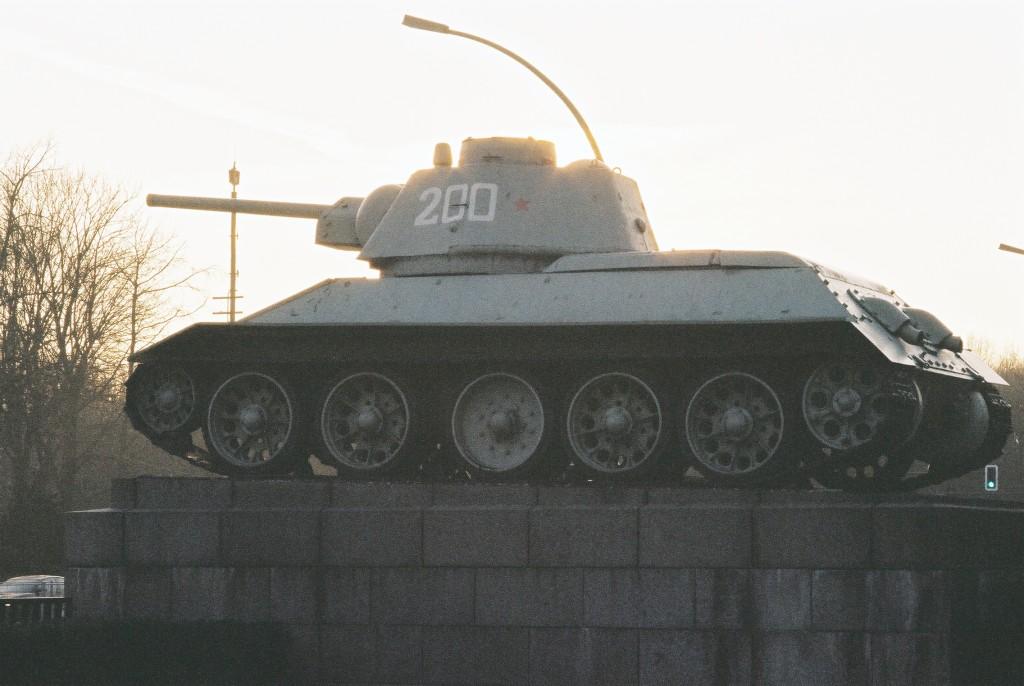 T 34 Denkmal in Berlin